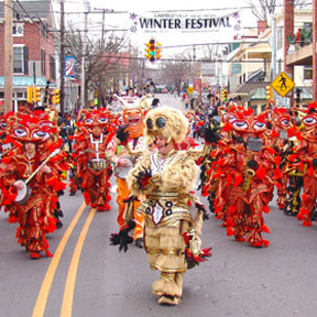 String Band - Winter Festival Parade